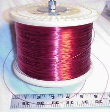 Photo of magnet wire spool
